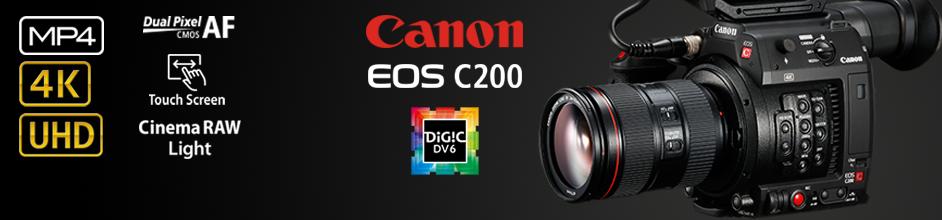 Canon EOS C200 PL PL