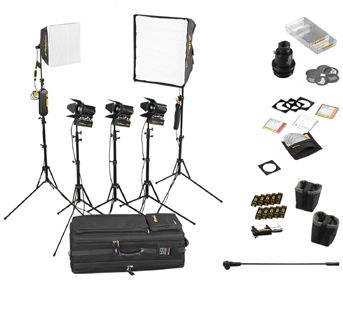 Dedolight Portable Studio 5-Light Kit SPS5