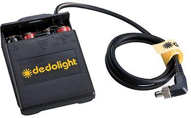 Dedolight externes Batteriefach für Ledzilla DLBF-8AA