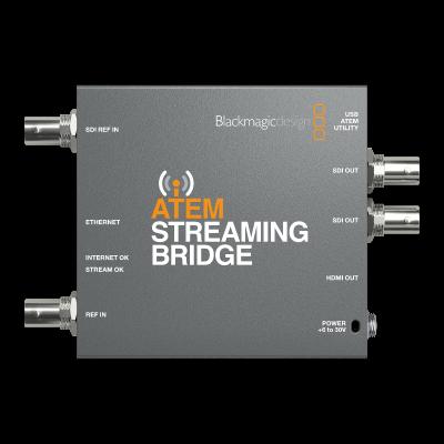 Blackmagic Design Atem Streaming Bridge Bm Swatemminisbpr Af Marcotec