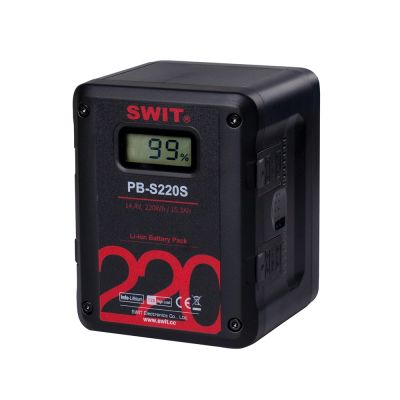 Swit PB-S220S Square Heavy Duty Digital Battery Pack