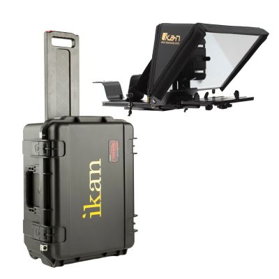 Ikan Elite Universal Tablet, iPad & iPad Pro Teleprompter Travel Kit (Version 2) (PT-ELITE-PRO2-TK)